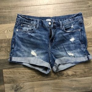 Old Navy, size 10, jean shorts